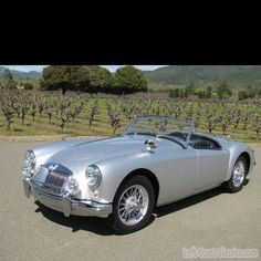1959 MGA 1500 Twin Cam Roadster. v@e.