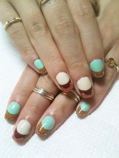 .cute nails  | See more nail designs at http://www.nailsss.com/nail-styles-2014/