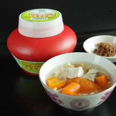 Bean Curd and Tianjin Preserved Vegetable Pork Soup <3