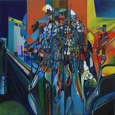 15 forma in divenire 2011 80x80 t. mista su tela. Autore: Franco Bulfarini (tutti i diritti riservati - per pubblicare l'immagine chiedere autorizzazione all'autore)