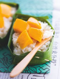 Mango and sticky rice. Put me on an island somewhere.