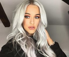 Lottie Tomlinson, Beauty, Hair, Nails, Makeup