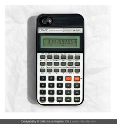 "iPhone 4 case ""Retro Calculator"" by CRAFIC, $19.99"