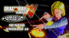 Mentor Android 18 Master Quest Training - Dragon Ball Xenoverse