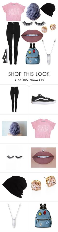 """""""Unicorn inspired outfit"""" by average-addison on Polyvore featuring Topshop, Violet Voss, SCHA, Tory Burch and IMoshion"""