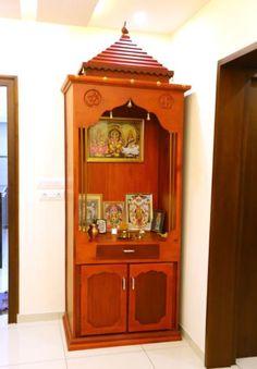 Small Pooja Cabinet Designs