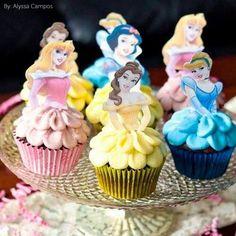 Princess cup cake