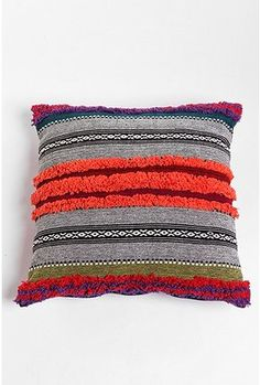 This pillow would coordinate with my new duvet, AND my coral ruffly pillow. I need it. Getting as soon as I have an income. $29.00 from Urban Outfitters