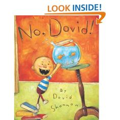 No, David!: David Shannon: 9780590930024: Amazon.com: Books