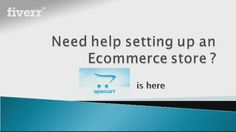 For only $60, I will do OpenCart  eCommerce store secure manual installation…
