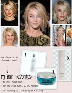 How to: Julianne Hough's Safe Haven Hair. This is perfect! Her and I have the same cut so this will help :)