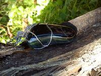 Elfské šperky z chirurgickej ocele, nerezové šperky, prívesky a náhrdelníky z minerálov, drôtené tepané ručne robené šperky pre elfov a víly.