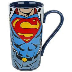"""Tazza in ceramica """"Super Strength"""" di #Superman. Capienza: 0,5 l. Prodotto compatibile con microonde e lavastoviglie."""
