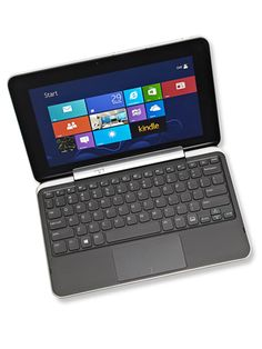 This Dell Windows Tablet is our pick for most portable. The convertible tablet docks into a keyboard, has almost no lag time when swiping or zooming and has a great camera and audio.