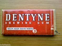 1940s Unopened Pack of Dentyne Chewing Gum