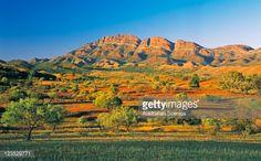 Stock Photo : Elder Ranges from Moralana Drive in the Flinders Ranges, South Australia