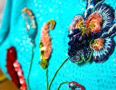 broderie d'art moderne ornement de sac à main mai 2015