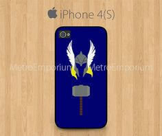 THOR iPhone 4 iPhone 4S Case God Of Thunder The by MetroEmporium, $13.79