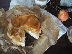 Birnen-Ricotta-Strudel mit Filoteig | Skön och kreativ Strudel, Ricotta, Tacos, Mexican, Dessert, Ethnic Recipes, Food, Pears, Mudpie