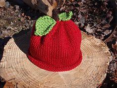 Ravelry: Apple Hat (Archived) pattern by Ariel Zusya Benjamin