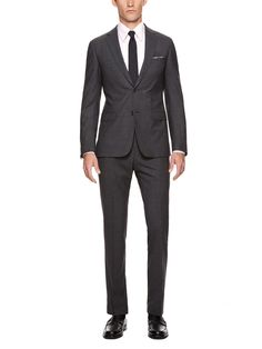 Broken Twill Suit by Z.ZEGNA at Gilt