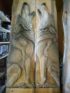 Tahoe Log Works - Custom Log Work, Sculpture, Relief, Wildlife Art, Carvings, Log Furniture in the Lake Tahoe Area