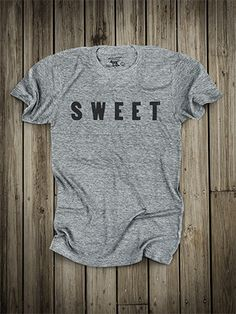 Sweet Tee // Made in USA // Old Try