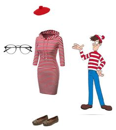 """""""Where's Waldo?"""" by curlyhair19 ❤ liked on Polyvore featuring Gucci"""