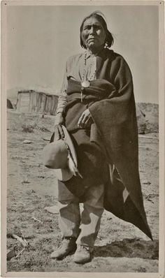 John Rope, San Carlos Apache, Arizona. 1909.