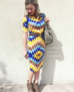 Love this LuLaRoe Julia dress! Get style tips on this site and learn how to shop for LuLaRoe outfits here!