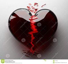 El Negro Del Corazón Roto Fotos de archivo libres de regalías ...