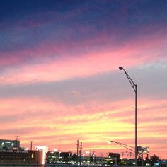 Beautiful #nashville #EveningSky