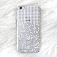 Transparent Lines + Grid Case Only $10 plus $7 shipping