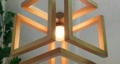 Wood Pendant Light / Wood Lamp / Celing light / Modern Chandelier / Wood Light Fixture / Hanging Lamp / Wood Chandelier - All For Decoration Wood Pendant Light, Wood Chandelier, Modern Chandelier, Modern Lighting, Pendant Lighting, Club Lighting, Iron Chandeliers, Pendant Chandelier, Mini Pendant