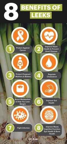 Leeks benefits - Dr. Axe http://www.draxe.com #health #holistic #natural