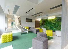 Le design des bureaux de Microsoft à Vienne