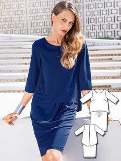Easy Dress 03/2016 #105 http://www.burdastyle.com/pattern_store/patterns/easy-dress-032016?utm_source=burdastyle.com&utm_medium=referral&utm_campaign=bs-tta-bl-160222-BlueCrushCollection105