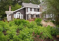 Beautiful Bainbridge Island House. Yeah, my dream house would be something similar to this.