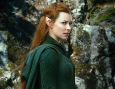Tauriel in the Hobbit - I absolutely love her!!!! Even though she's not in the book she my favorite!