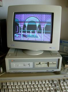 Amstrad PC-1512 My first x86 Computer (PC)