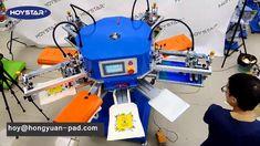 how to print kraft paper bag, shopping bag, tote bag, Canvas bag printin... Screen Printing Machine, Kraft Paper, Shopping Bag, Tote Bag, Canvas, Prints, Bags, Tela, Handbags