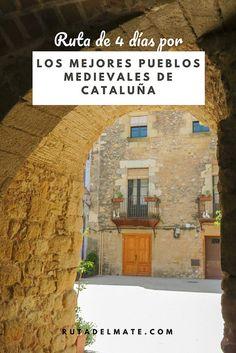 Ruta de 4 días por los mejores pueblos de Cataluña