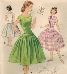 1950s McCall's 3151 UNCUT Vintage Sewing Pattern by midvalecottage