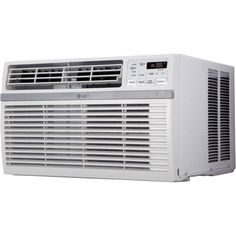 LG LW8015ER 8,000 BTU 115V Window-mounted White Air Conditioner with Remote Control (White)