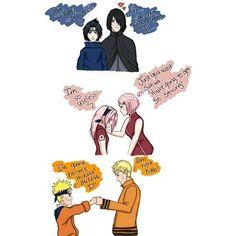 Sasuke & Sakura & Naruto