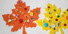 activité de bricolage simple pour l'automne