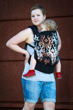 Canvas - Ipanainen Exclusive 'Hirvet' (Moose) TULA BABY CARRIER; Designed by Hañhi Design, Released July 2014