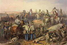 La bataille de Neerwinden eut lieu le 18 mars 1793 près du village de Neerwinden (en Belgique actuelle), entre l'armée impériale sous les ordres du prince de Cobourg et l'armée française commandée par le général Dumouriez.