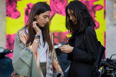 #New on #STYLEDUMONDE http://www.styledumonde.com with @ankatsitsishvili @kamilyakuspan #AnkaTsitsishvili #KamilyaKuspan at #paris #fashionweek #pfw #outfit #ootd #streetstyle #streetfashion #streetchic #streetsnaps #fashion #mode #style