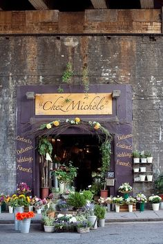 Chez Michele Florist Shop. The New Victorian Ruralist
